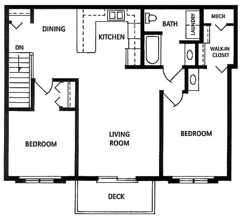 Northwood Villa 1 Bedroom 1 Bathroom Apartment